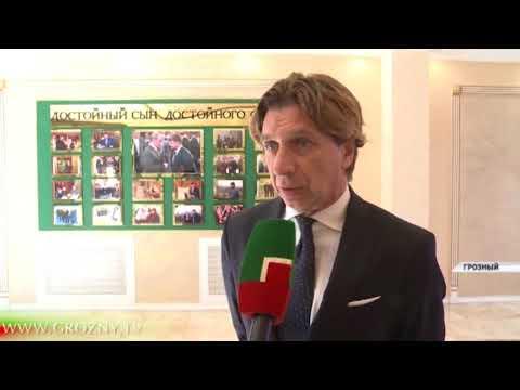 Итальянская делегация приехала в Чеченскую Республику