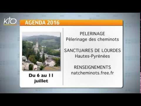 Agenda du 20 juin 2016