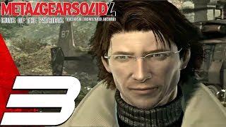 Metal Gear Solid 4 - Gameplay Walkthrough Part 3 - Liquid & Nanomachines [1080p HD]
