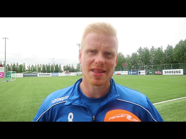 Baldur Sig: Þetta hjálpar klárlega til við að hlaupa meira í leiknum