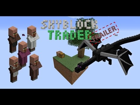 SkyBlock Trader Survival Map Minecraft Project - Minecraft maps skyblock 1 11 2