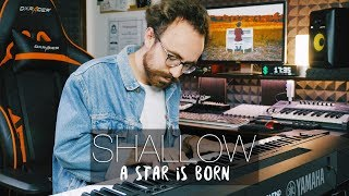 SHALLOW - Lady Gaga & Bradley Cooper - A Star Is Born (Piano Cover) | Costantino Carrara