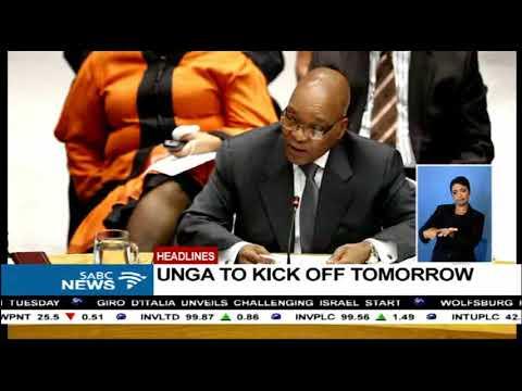 #SABCNews headlines @18h00 | 18 September 2017