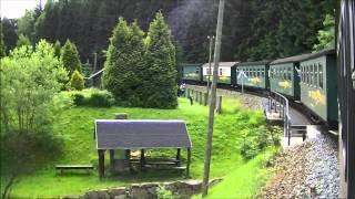 preview picture of video 'Fichtelbergbahn - Von Cranzahl nach Oberwiesenthal'