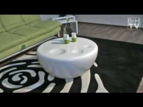 Strice 80 - der runde Couchtisch im Loungedesign