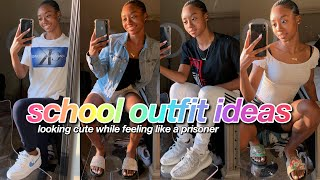 BACK TO SCHOOL OUTFIT IDEAS 2019-2020 | Baddie On A Budget🤪💰