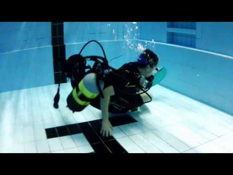 Jacket unter Wasser anlegen