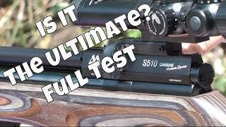 REVIEW: Air Arms S510 Ultimate Sporter Air Rifle