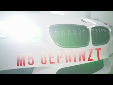 CAR IS ON FIRE  🔥  // M5 IN ROT CHROM MATT GEPRINZT