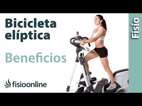 Bicicleta elíptica - Virtudes y beneficios para la salud de tu espalda, músculos y articulaciones