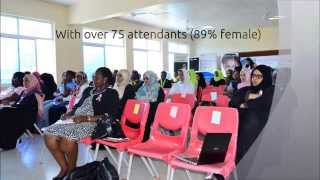 preview picture of video 'IWD 2015 - Women Techmakers Mombasa'