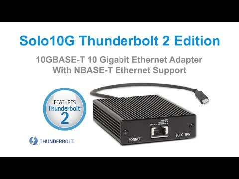 Solo10G Thunderbolt 2 Edition