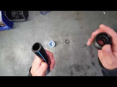 PE-Rohr Klemmverbinder montieren ( DVGW Trinkwasserleitung Kunststoff )