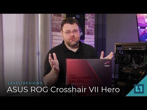 ASUS ROG Crosshair VII Hero Wi-Fi X470 Motherboard Review