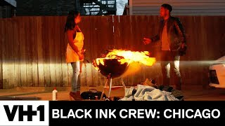 Danielle Burns Terrance's Clothes 'Sneak Peek | Black Ink Crew: Chicago