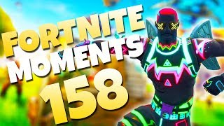 THE LUCKIEST LLAMA SPAWN EVER!? (HILARIOUS ROCKET RIDE) | Fortnite Daily and Funny Moments Ep. 158