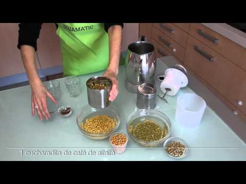 Sojamatic preparación bebidas vegetales