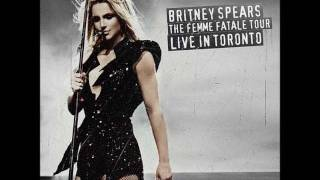 Britney Spears - He About To Lose Me (Femme Fatale Tour Studio Version)