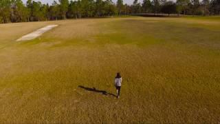Flying Drone In Orlando Park