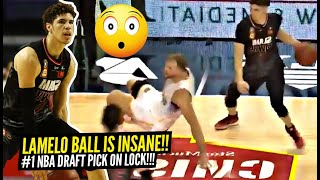 LaMelo Ball INSANE Ankle Breaker & CRAZY PASS!! Proves He's #1 Draft Pick! Melo NBL BEST Plays!