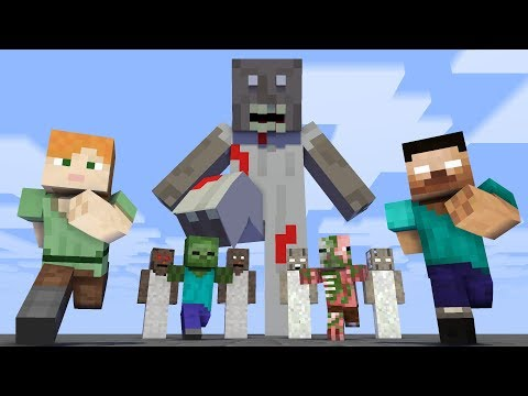 Monster School : Granny Invasion - Minecraft Animation