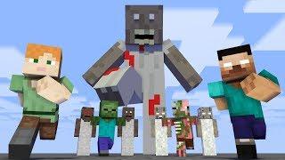 Video Monster School : Granny Invasion - Minecraft Animation MP3, 3GP, MP4, WEBM, AVI, FLV September 2019