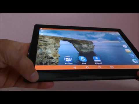 Videoreview zum Odys Gambit 10 Tablet mit Android 6, 3G, microSD-Kartenleser und 10,1