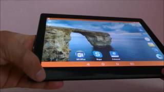 """Videoreview zum Odys Gambit 10 Tablet mit Android 6, 3G, microSD-Kartenleser und 10,1"""" IPS Display"""
