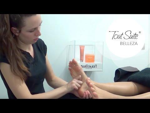 Peeling y masaje de pies para pedicura | Feet massage for pedicure