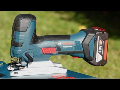 Der Stichsägentest beginnt mit einem Highlight: Bosch GST 18V-Li S