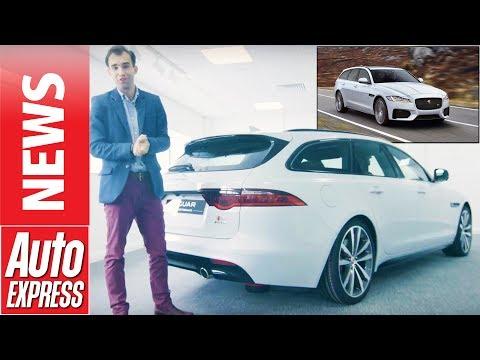 New Jaguar XF Sportbrake estate revealed: We take the tour...