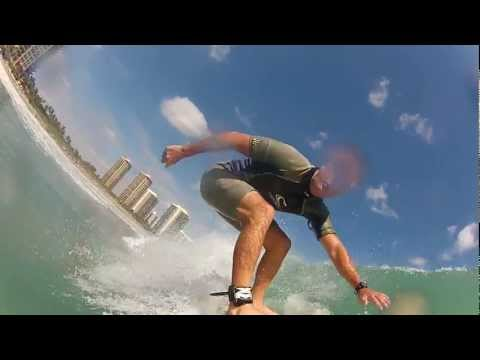 Local Surfing Beautiful Water in Singer Island