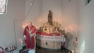 Heilige  Mis in de Rosakapel 05042020