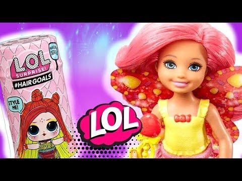 LOL Surprise Hairgoals Wave 2 💖 Nowa przyjaciółka dla Chelsea • Barbie 💗 Toys Land