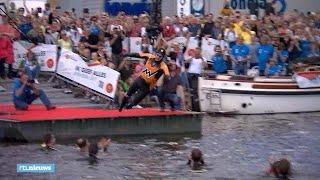 Zo begon Maarten van der Weijden aan zijn monsterzwemtocht - RTL NIEUWS