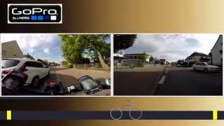 preview picture of video 'Radfahrt durch Groß-Gerau - von Annastraße zur Fasanerie'