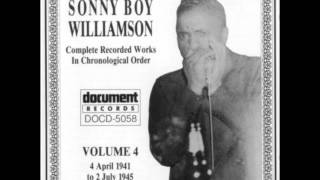 Sonny Boy Williamson, Ground hog blues