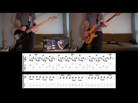 Audioslave - Revelations Guitar and Bass cover with tabs