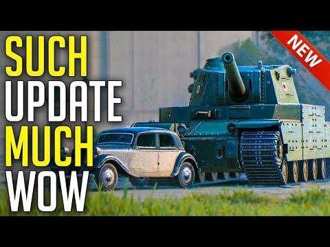 Much Update, Such WOW ► World of Tanks UDES 15/16 Gameplay - Update 1.5