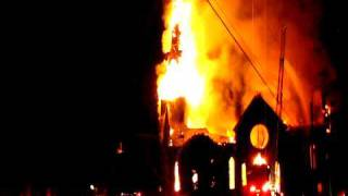 preview picture of video 'Aylmer QC Church Fire'