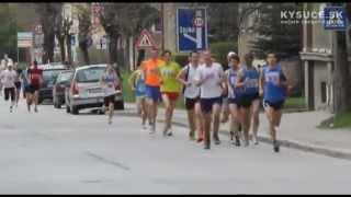 preview picture of video 'Kysucká desiatka 2012 - 7. ročník - Kysucké Nové Mesto'