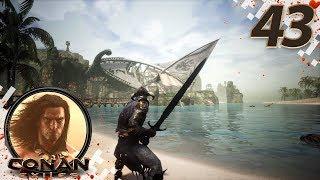 CONAN EXILES (NEW SEASON) - EP43 - Buccaneer Bay! (Gameplay Video)