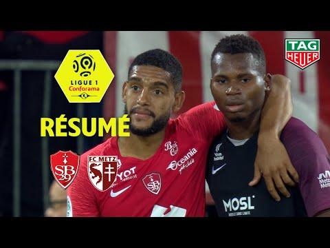 Stade Brestois 29 - FC Metz ( 2-0 ) - Résumé - (BREST - FCM) / 2019-20