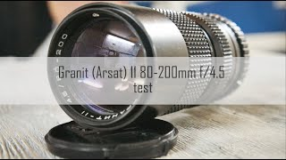 Пример видео Гранит Arsat 11 80-200 на Canon 7D