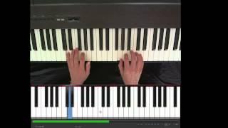 Ode to Joy (European national anthem), easy piano