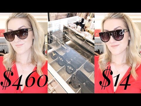 Sunglasses Collection! DESIGNER & DUPES!