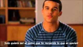 Glee Cast - Let me love you (until you learn to love yourself) subtitulada full performance