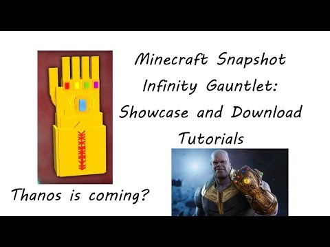 Portal to the Infinity Gauntlet Dimension | Minecraft PE