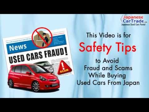 Avoid Japan Used Cars Import Fraud & Scam