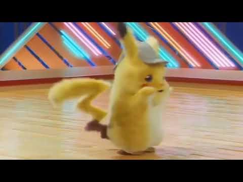 Pikachu dances on Tripaloski. ТРИ ПОЛОСКИ